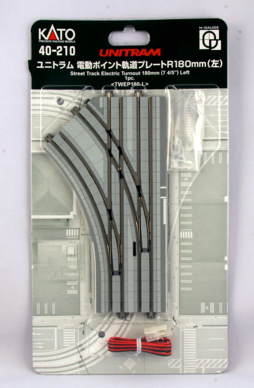 medium resolution of kato 40 210 unitram street track w streetcar rails roadway
