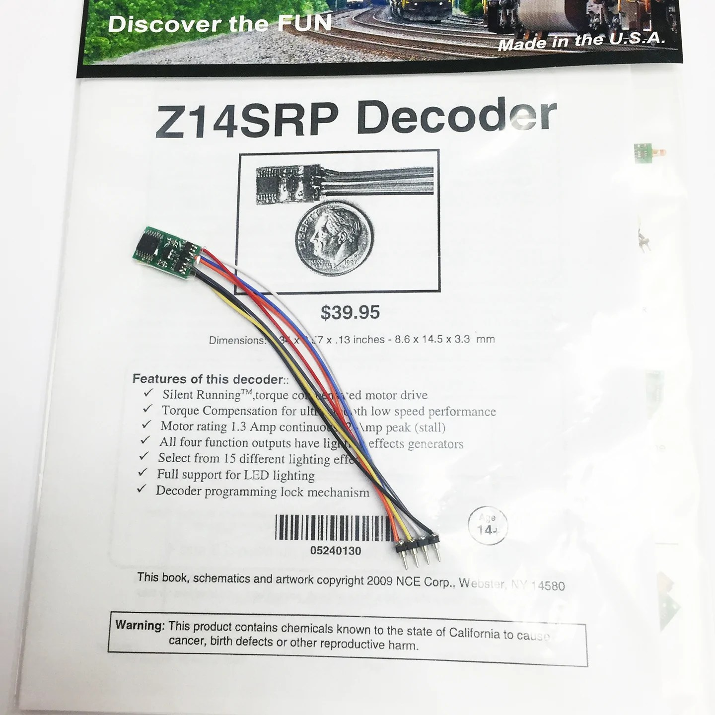 medium resolution of nce 0130 n z14srp tiny generic decoder