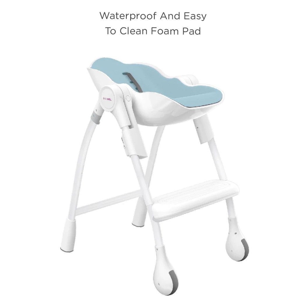 Easy Clean High Chair Cocoon Delicious Blue Raspberry Marshmallow