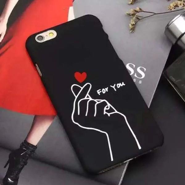 Korean Heart iPhone Case  kogiketsu