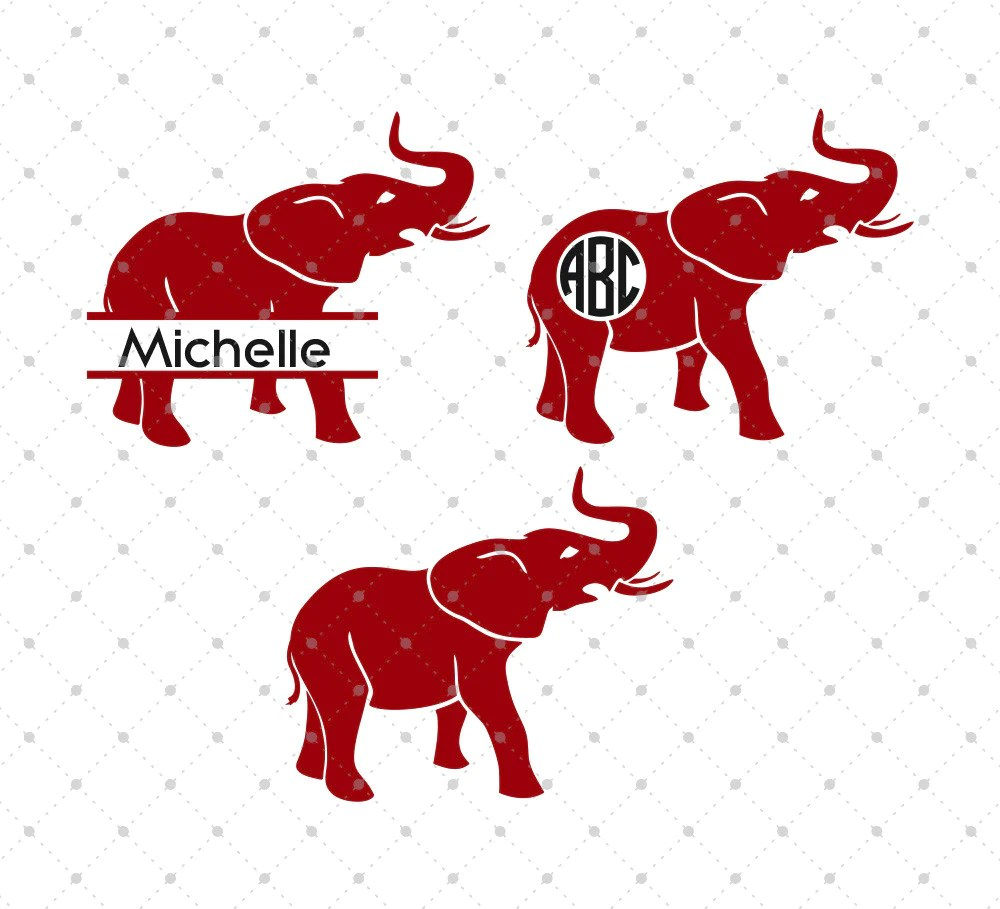 Download SVG Cut Files for Cricut and Silhouette - Alabama Elephant ...