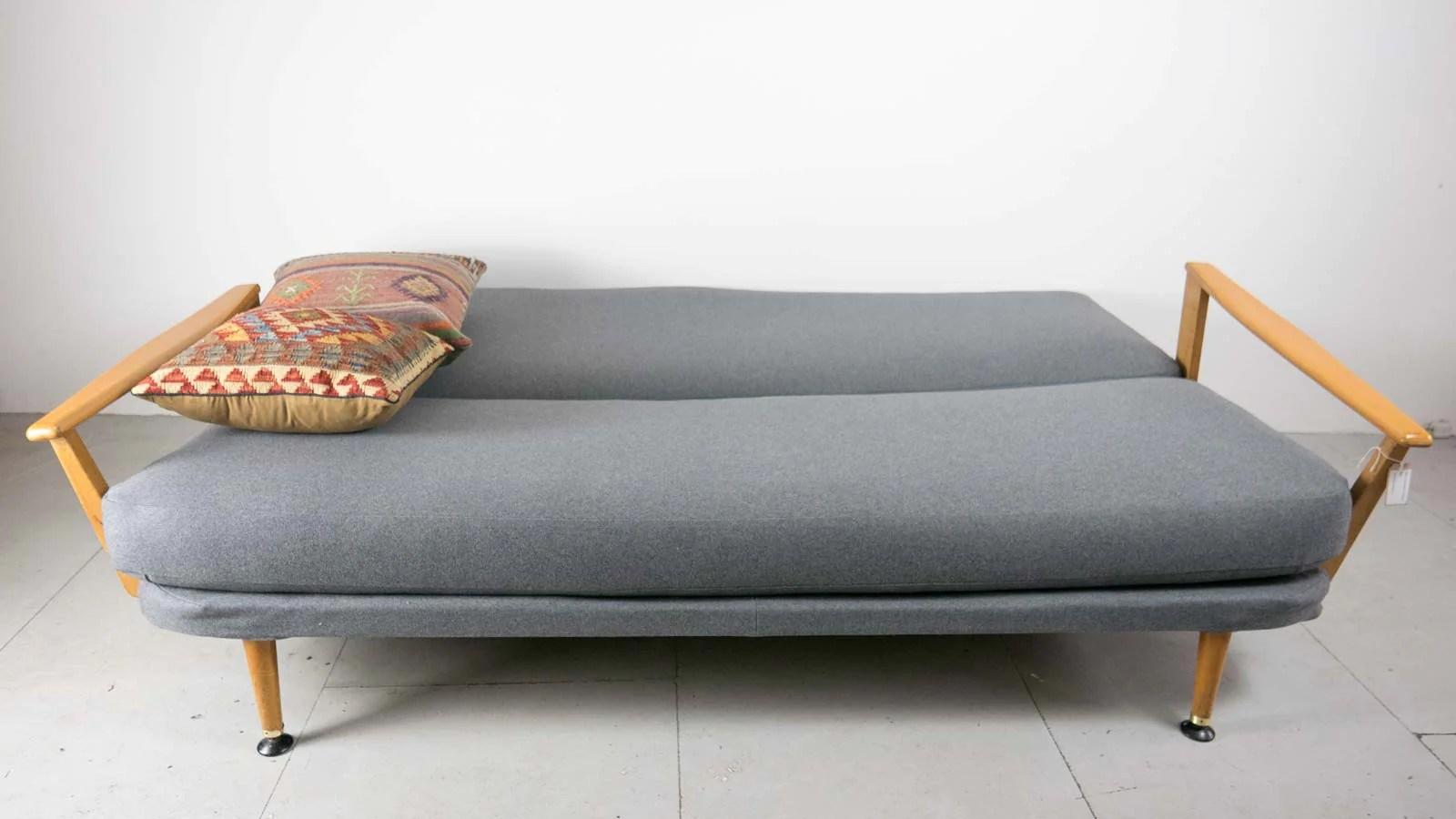clic clac sofa bed with storage corner lee longlands ebtd   mid century modern ...