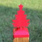 Christmas Tree Post Cap For 4x4 Wood Post Christmas Tree Farm Post Cap Madison Iron And Wood