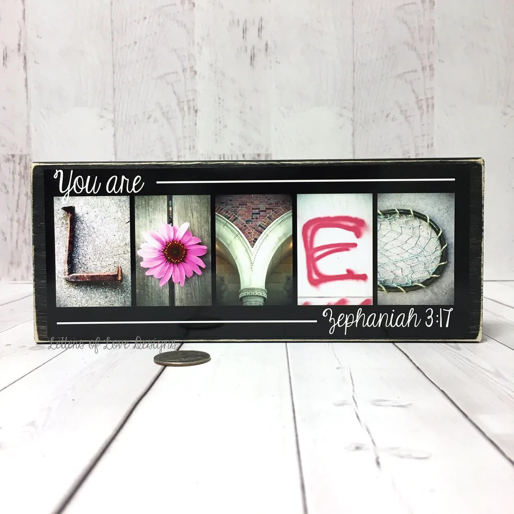 You Are Loved Sign, Zephaniah 3:17, Gifts For Women, Mother's Day