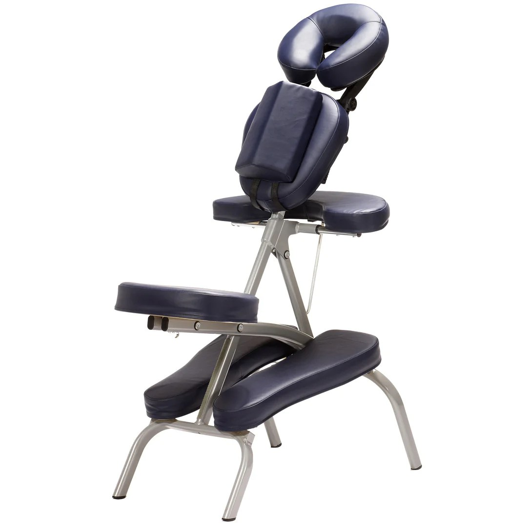 best portable massage chair chromcraft furniture kitchen with wheels affinity puma warehouse