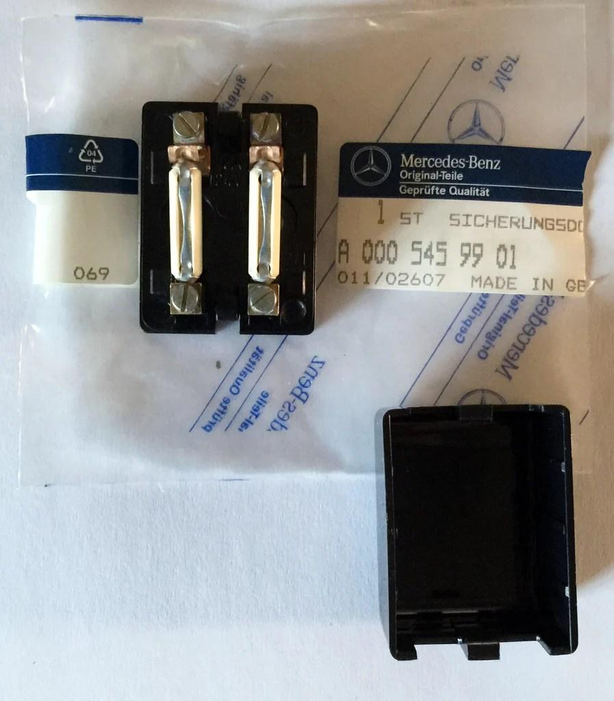 medium resolution of new genuine mercedes benz germany auxiliary fuse box w kit cover mounting screw r107 w126 w201 w108 w109 w111