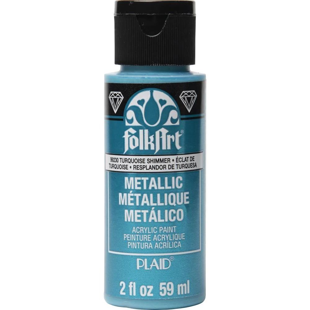 folkart - metallic acrylic paint