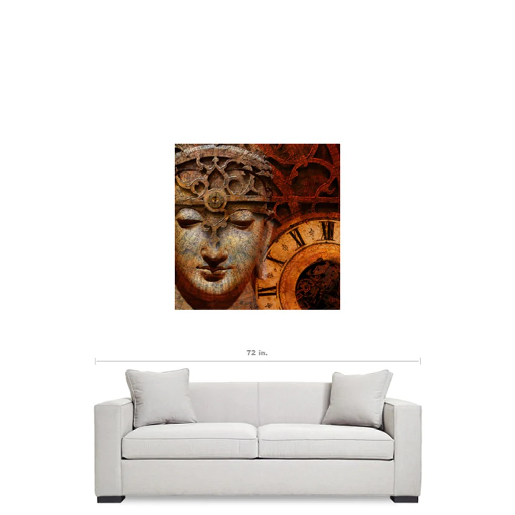 Esoteric Steampunk Buddha Art Canvas - Illusion Of