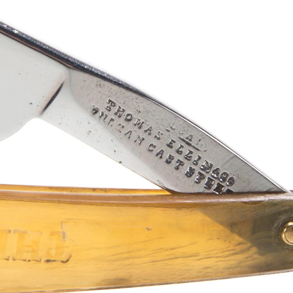 Thomas Ellin & Co. - The Old English Razor (Vulcan Cast Steel) – VintageStraightRazor.com