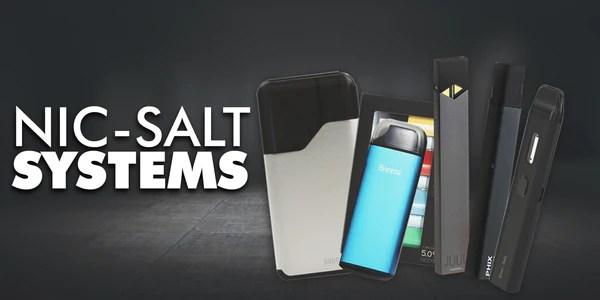 Nicotine Salt Devices