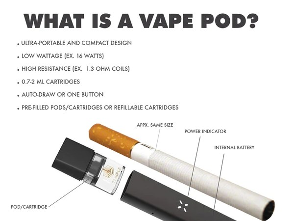 What is a vape pod
