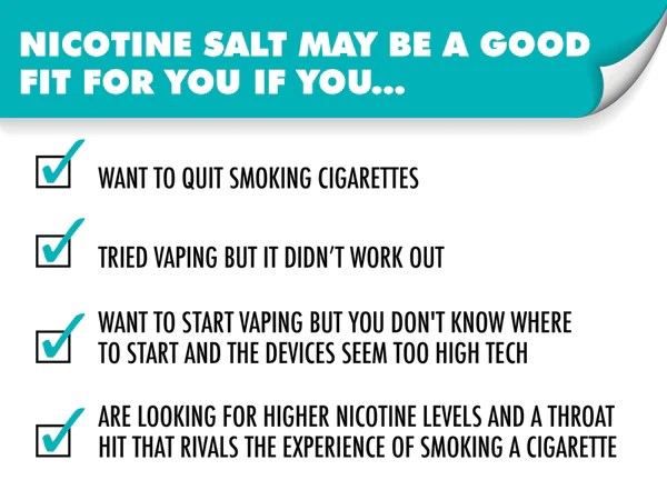 Nicotine salt may be  good fit for you if also vs freebase why is the new craze rh ruthlessvapor