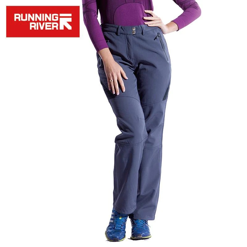 Women Hiking Pants 2 Colors Warm Outdoor Camping