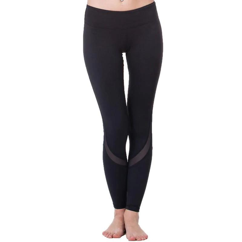 Yoga Sports Leggings Women Tight Mesh