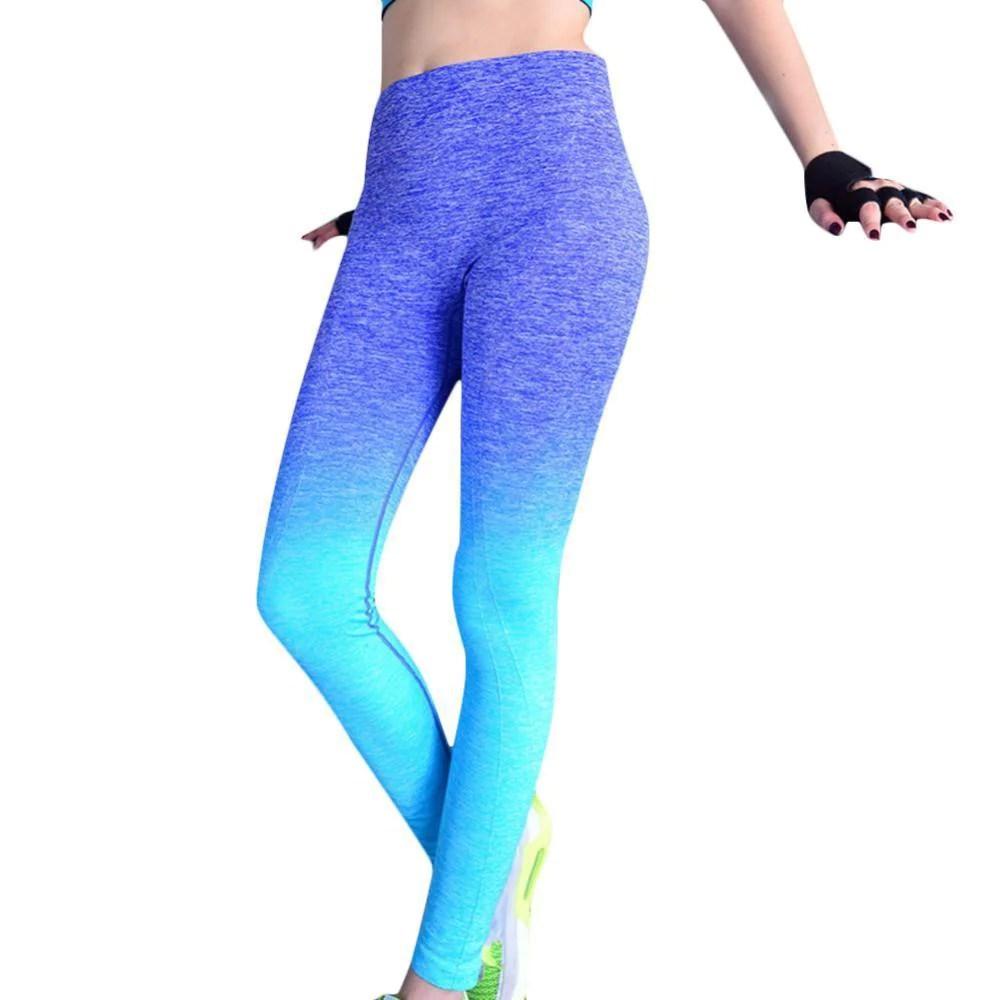 High Elastic Women Yoga Pants Compression Tights Fitness