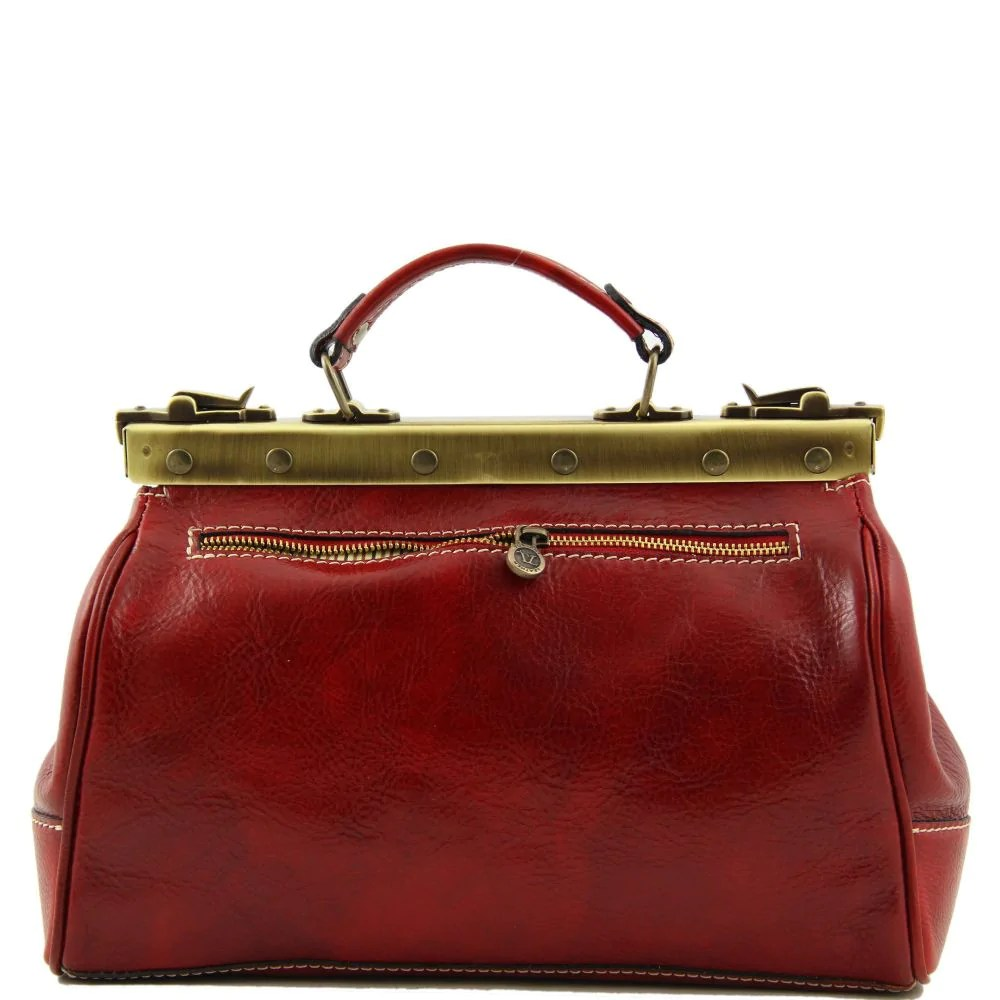 Doctor Gladstone Leather Bag -michelangelo - Bags Business