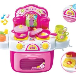 Toy Kitchens Kitchen Island With Granite Top Play Sold Out Berry Toys Br008 87 My First Portable Set Peazz Com