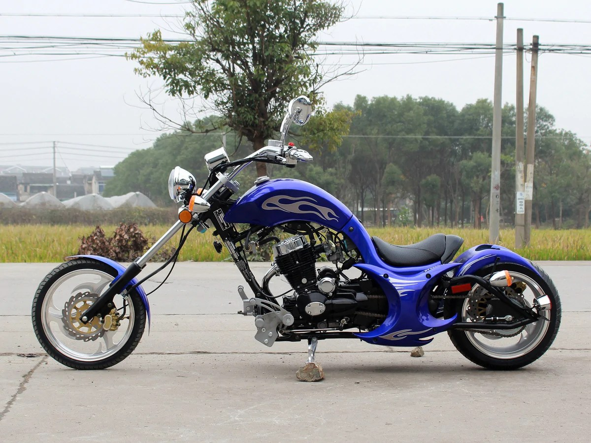 street legal mini chopper 49cc 50cc 250cc 125cc free shipping usa canada belmonte bikes [ 1200 x 900 Pixel ]