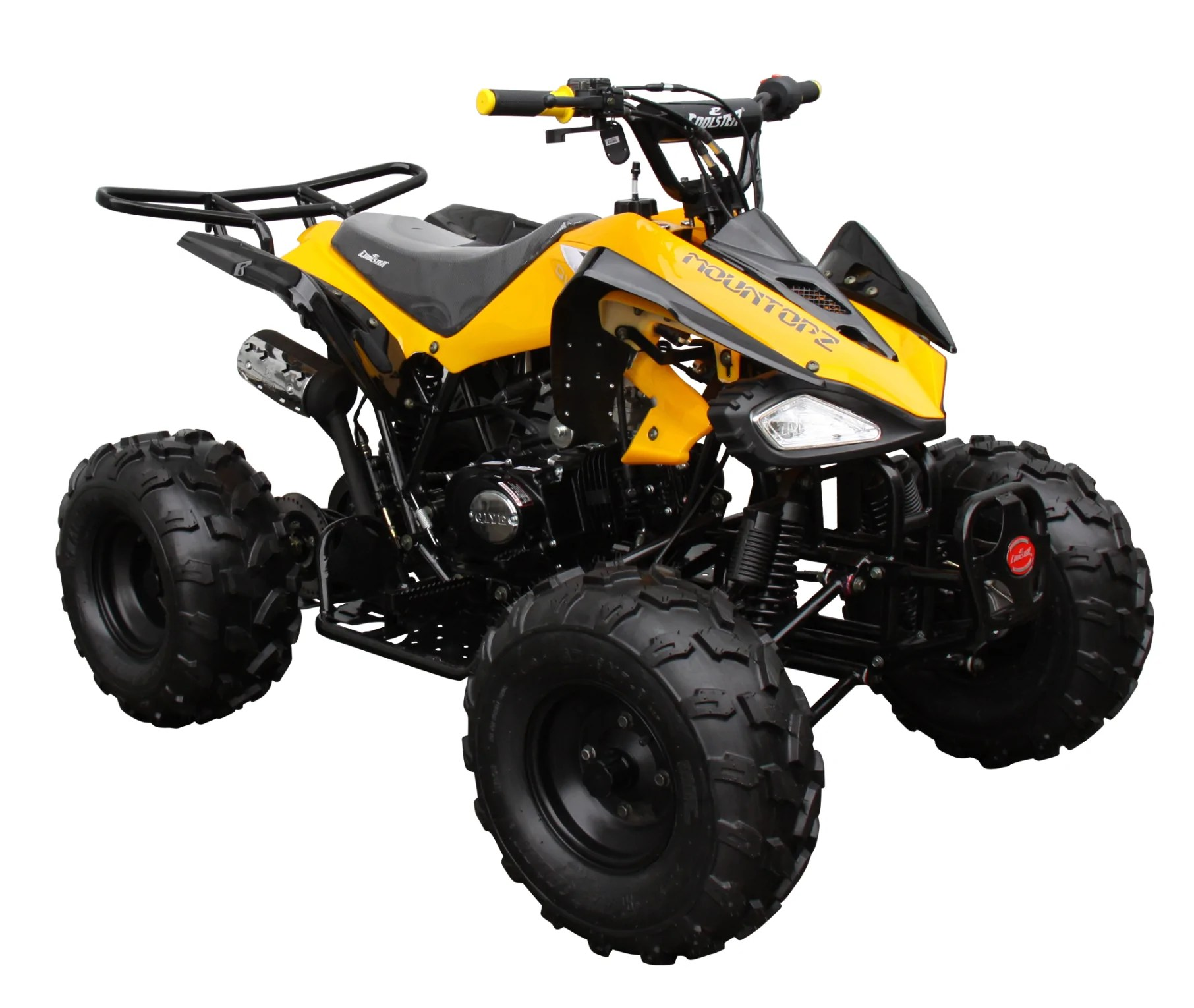 small resolution of raptor 125cc quad sport atv semi automatic atv 3125c 2