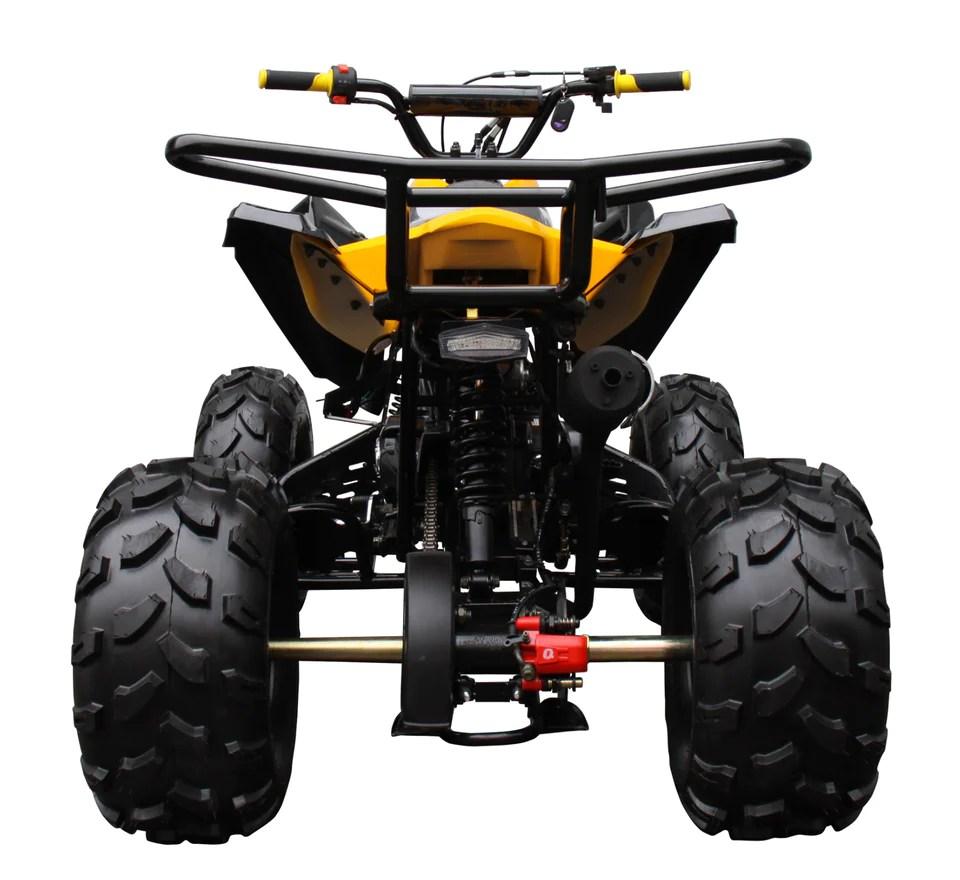 hight resolution of raptor 125cc quad sport atv semi automatic atv 3125c 2