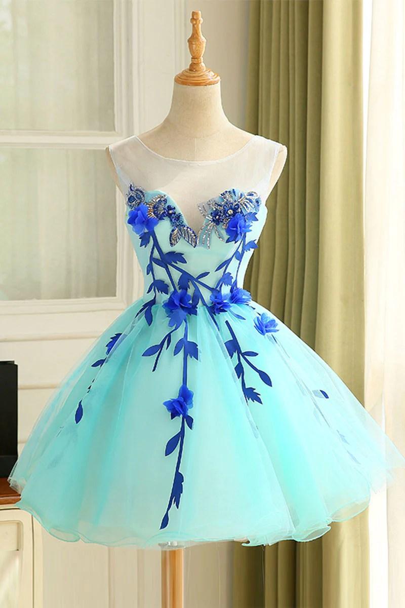 Cute Short Teen Prom Dresses