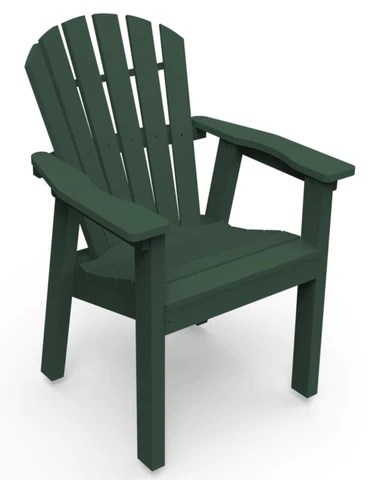 adirondack style dining chairs threshold patio seaside casual shellback chair the market price