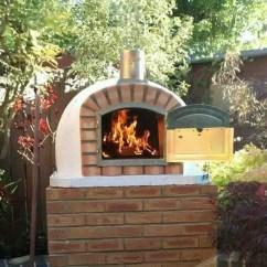 Kitchen Portable Islands Home Depot Backsplash Glass Tile Authentic Pizza Ovens Lisboa Brick Wood-fired Oven ...