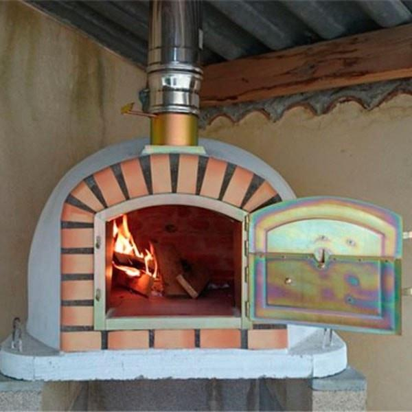 Authentic Pizza Ovens Lisboa Brick WoodFired Pizza Oven from Portugal  Patio  Pizza