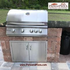 Kitchen Kits Storage Cabinet Outdoor Necessories Grill Island Kit Rockwood Sizzler