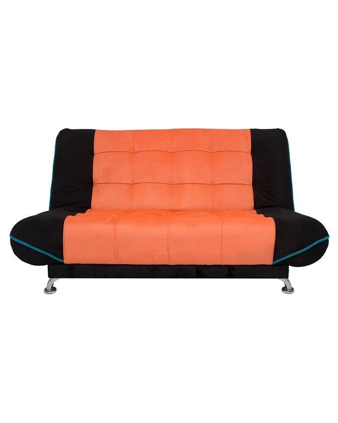 orange and black sofa bed kleine raume art home كنبه من ارت هوم