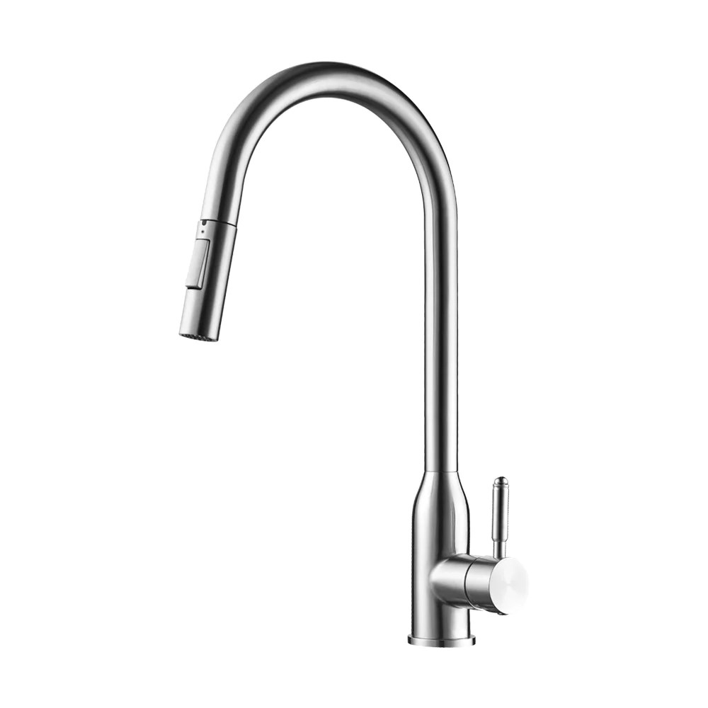 stainless steel kitchen faucets bins jackson faucet pearl canada