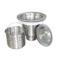 Kitchen Colander Islands Portable Strainer Stainless Steel Pearl Canada Sinks