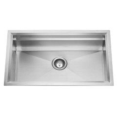 Ss Kitchen Sinks Range Reviews Cuvi P 16 Gauge Single Bowl Stainless Steel Sink System