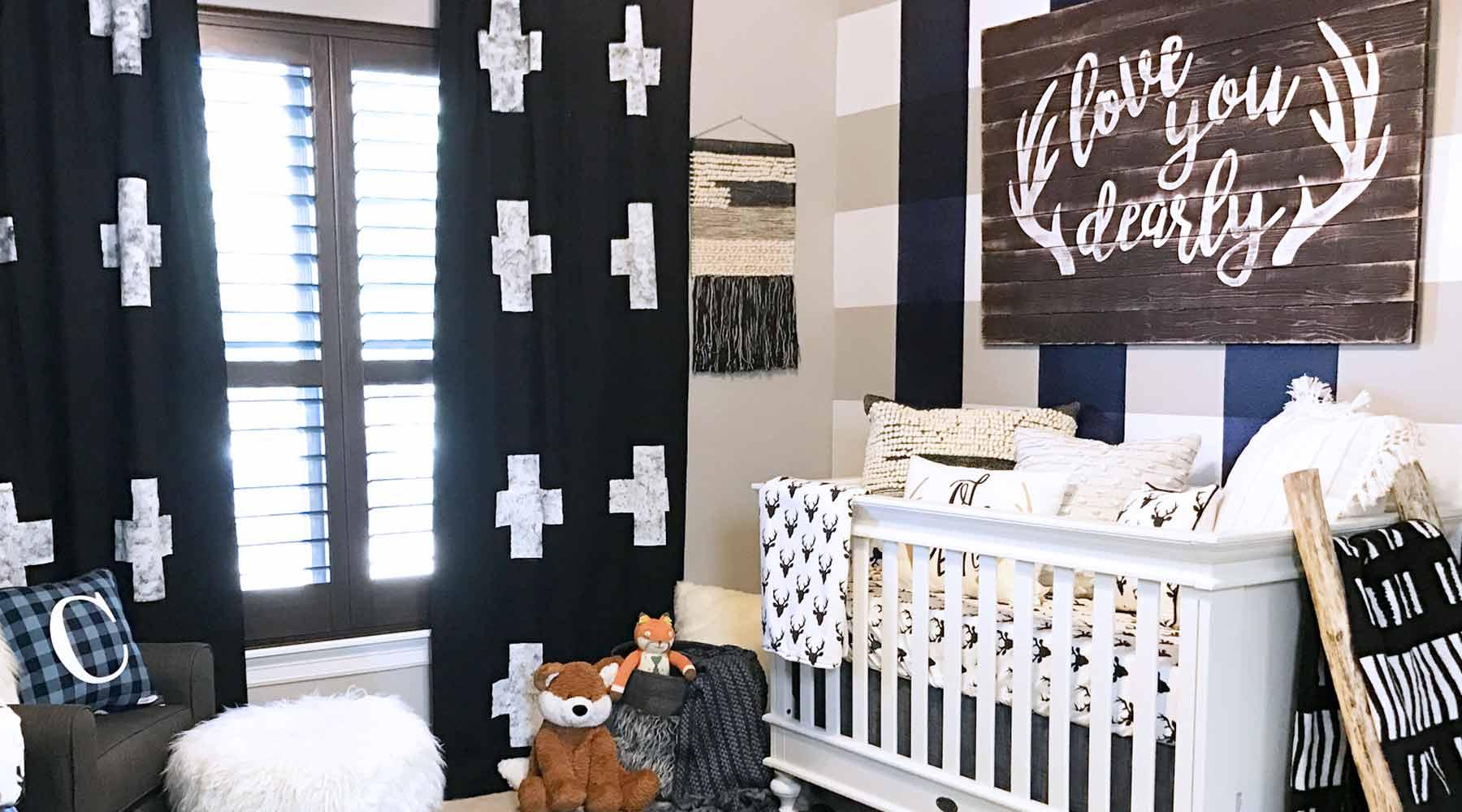 rustic nursery bedding accessories