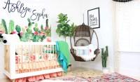 A Modern Boho Cactus Nursery | Caden Lane