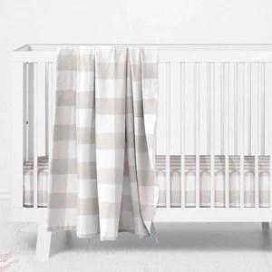 baby crib bedding for a stylish nursery