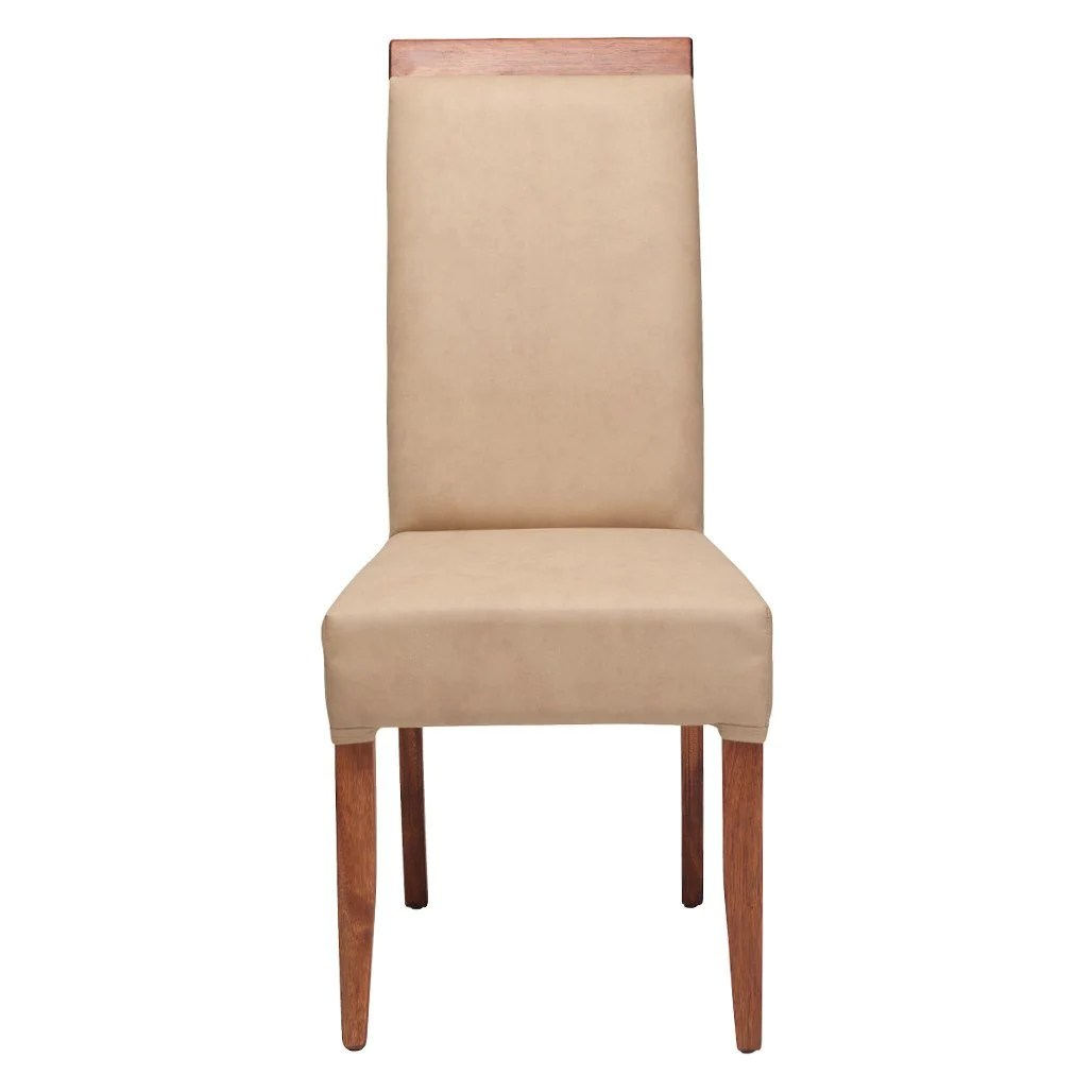 Beige Leather Dining Chairs Urban Soho Dining Chair Beige Walnut