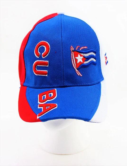 Cuban Flag Baseball Cap  Valsan Inc