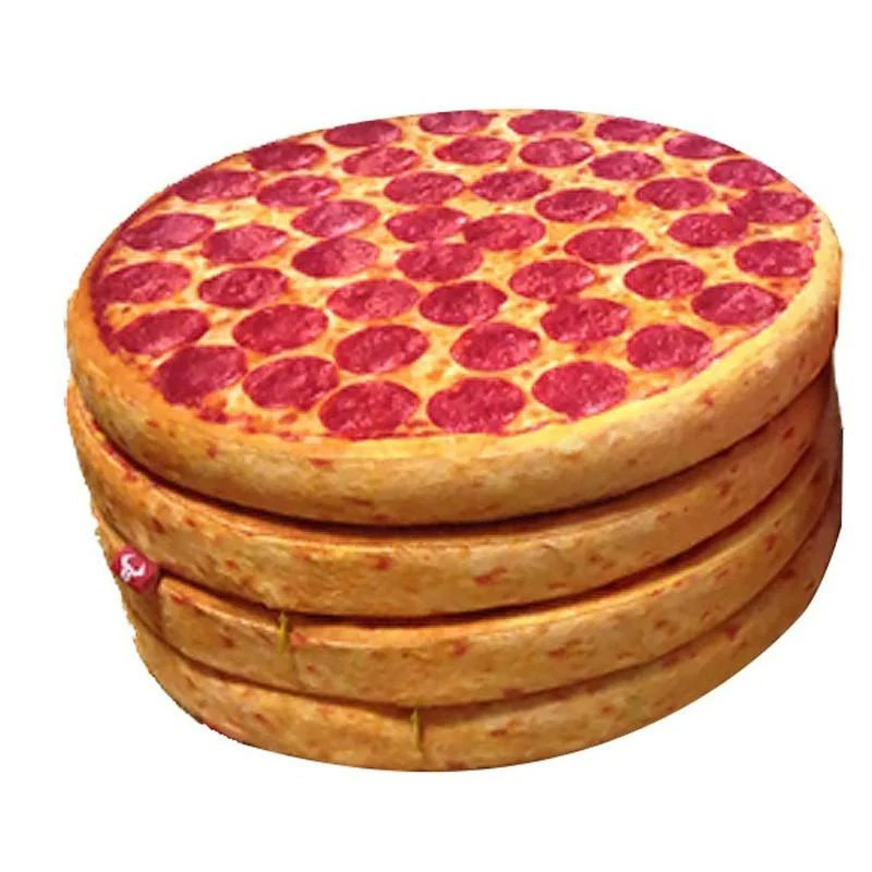 delicious pizza pillow