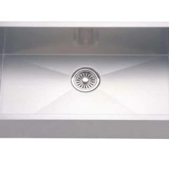 Stainless Steel Undermount Kitchen Sinks Used Table And Chairs Dawn 26 Sink Single Bowl With Zer Showroom
