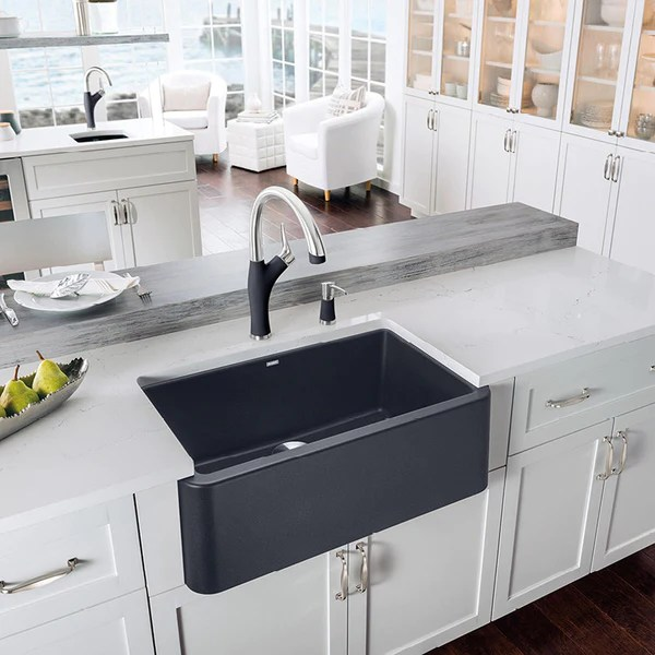 Blanco Ikon 30 Apron Front Granite Composite Sink In