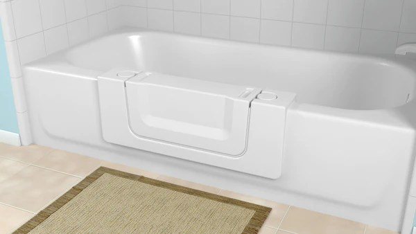 WalkIn Convertible Bath Tub for Easy Entry  Safe Home Pro
