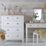 Lavenham White Painted Oak Bedside Extra Large Better Furniture