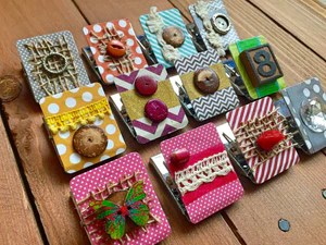 kitchen magnets granite decorated refrigerator magnet clip whimsicals paperie clips strong homeschool decor cute fridge