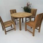 4 Seater Dining Table Set Australia The Teak Place The Teak Place