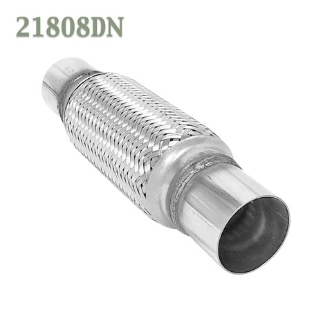 https www bearriverconverters store products 2 1 8 x 8 x 12 in flex pipe exhaust coupling stainless heavy duty w ends