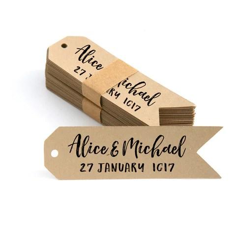 custom printed gift tags