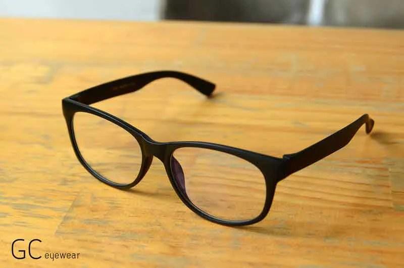 霧黑膠框抗藍光眼鏡/百搭 Hulk|深受推薦的眼鏡品牌 - GC eyewear 宅時毛 - Geek Chic 宅時毛