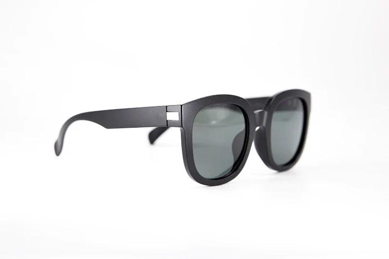 霧黑膠框偏光太陽眼鏡/ Kate圓框凱特 深受推薦的眼鏡品牌 - Geek Chic 宅時毛