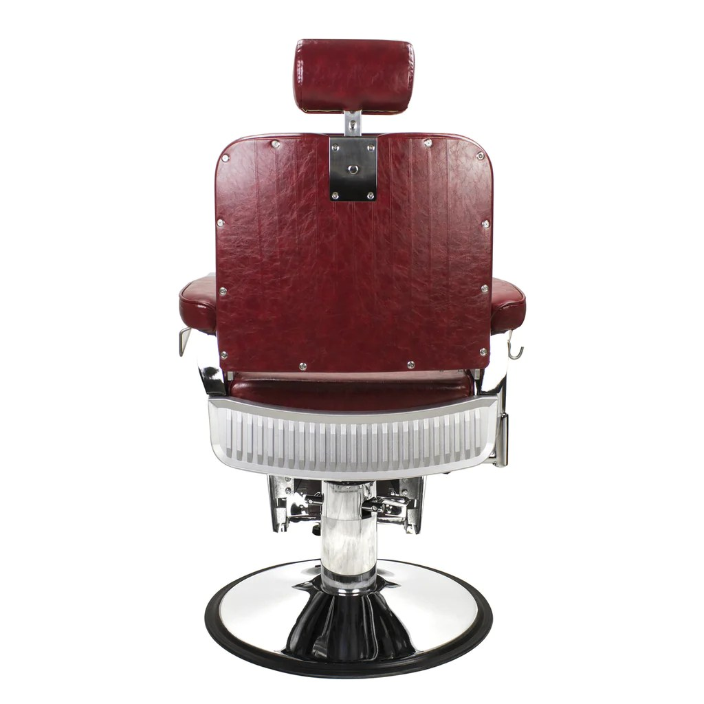 Red Barber Chair Limited Edition Crimson Lincoln Barber Chair